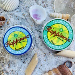 Happinesz Deodorant and Hand Balm | The Organic Label