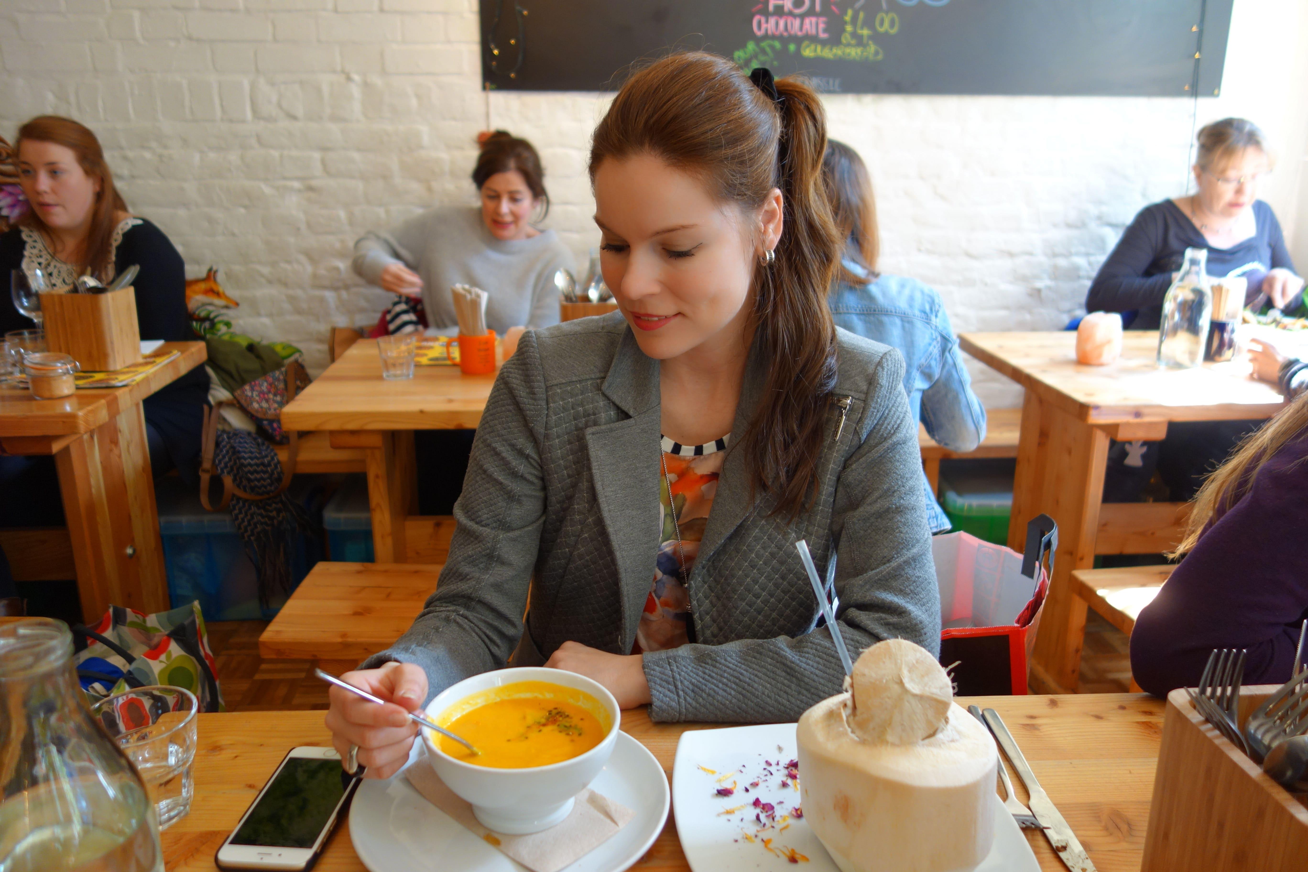 Wild Food Cafe London- The Organic Label