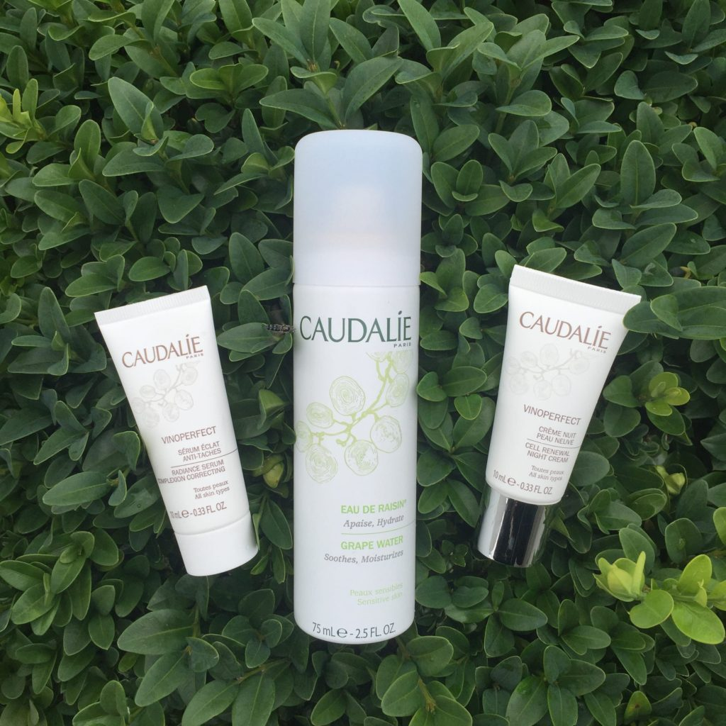 Caudalie Grape Water and Vinoperfect
