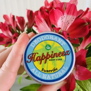Happinesz non-toxic deodorant |The Organic Label