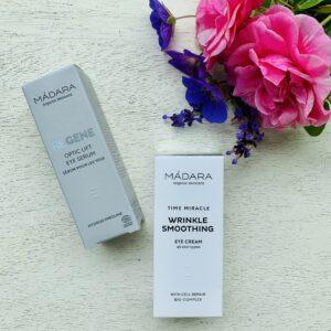 Madara Organic Skincare Eye Serum and Eye Cream