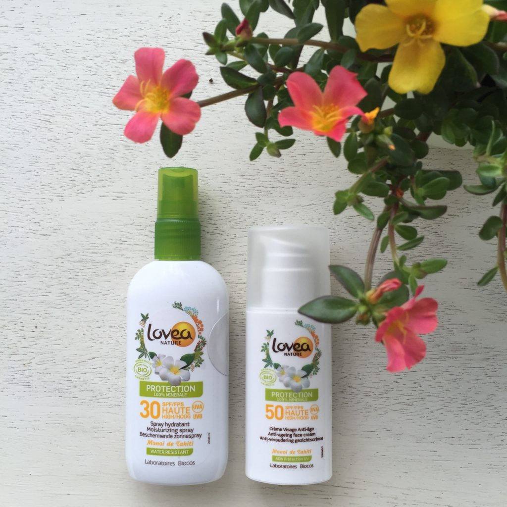Organic Ecocert Lovea Sunscreen