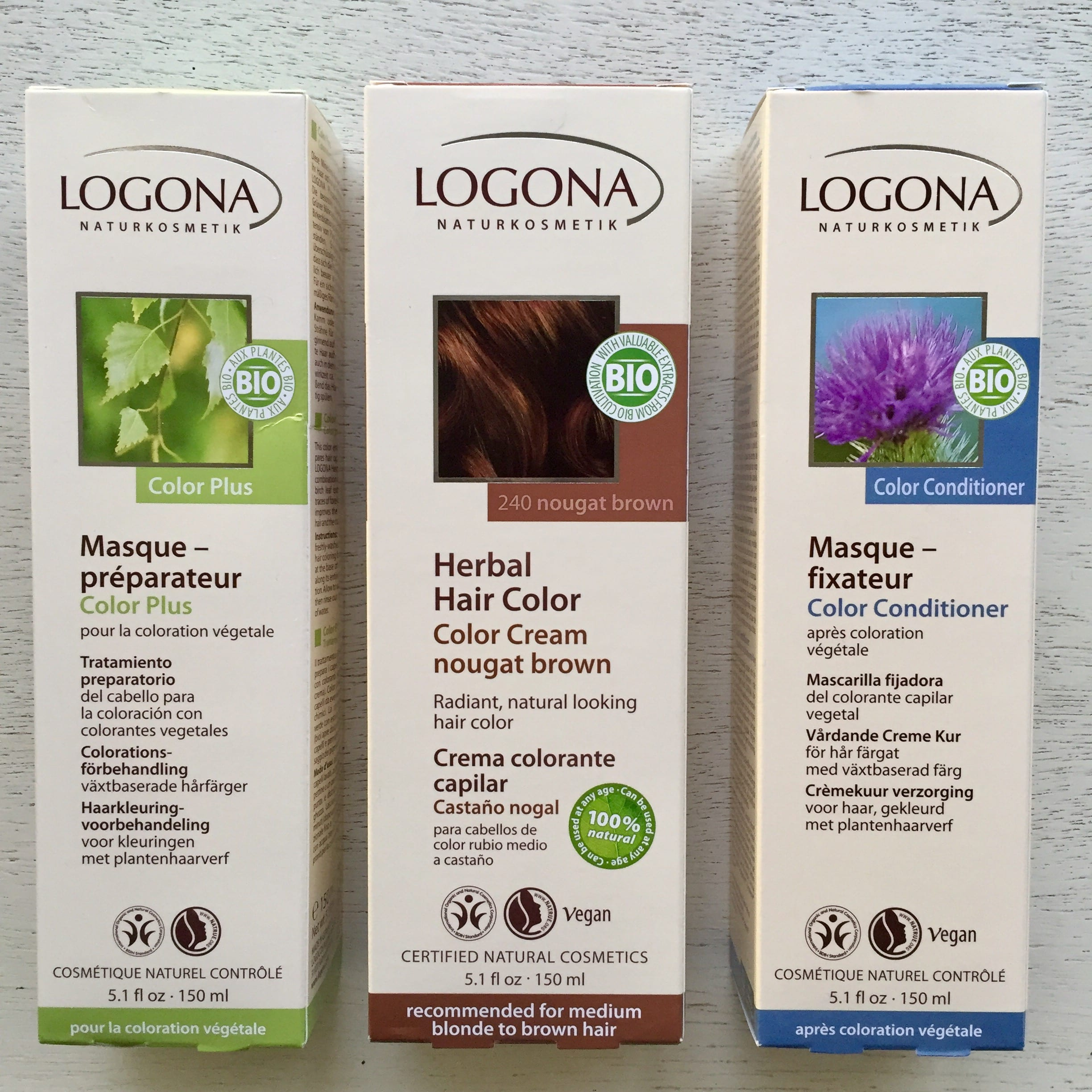 Logona Organic Hair Coloring