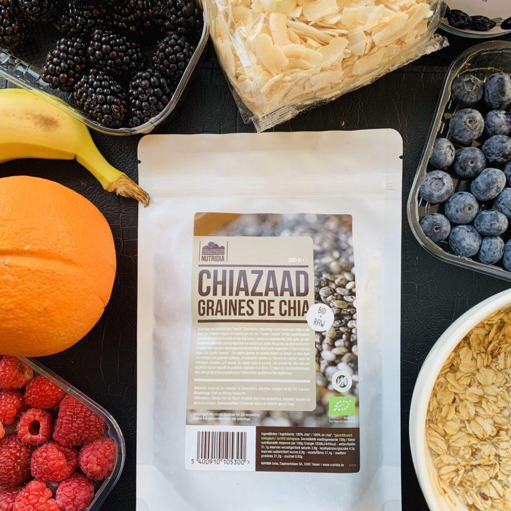 Organic Chia Seeds Nutridia - The Organic Label