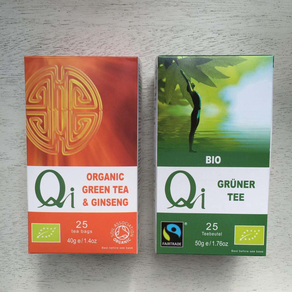 Qi Organic Green Tea and Ginseng