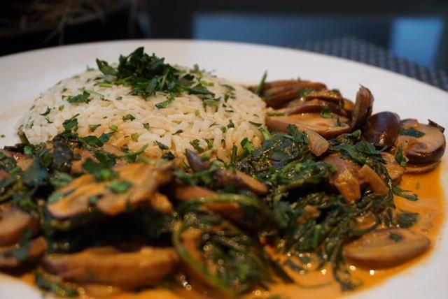 Vegetarian Stroganoff Marley Spoon 2 - The Organic Label